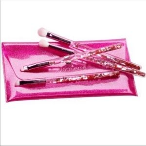 Glamierre Eye Brush Collection Pink Luxe Glitter